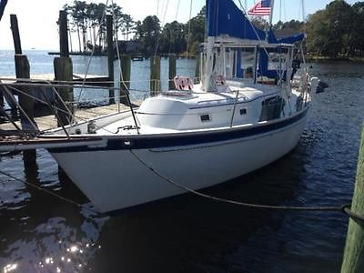 1982 IRWIN 37 CENTER COCKPIT SLOOP  $65,000 REFIT MAKES THIS A