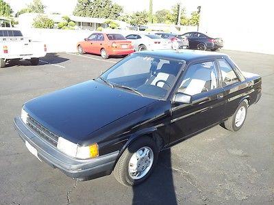 Toyota : Tercel Base Sedan 2-Door 1989 toyota tercel base sedan 2 door 1.5 l