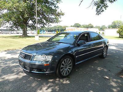 Audi : A8 L Sedan 4-Door 2004 audi a 8 quattro l sedan 4 door 4.2 l