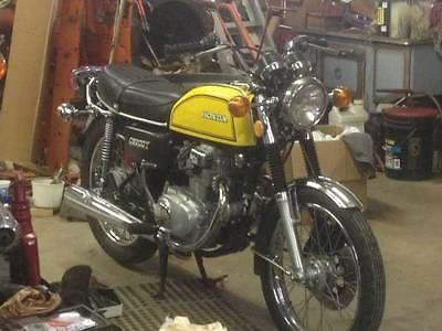 Honda : CB 1975 cb 200 cb 200 t very original surivor clean runs great