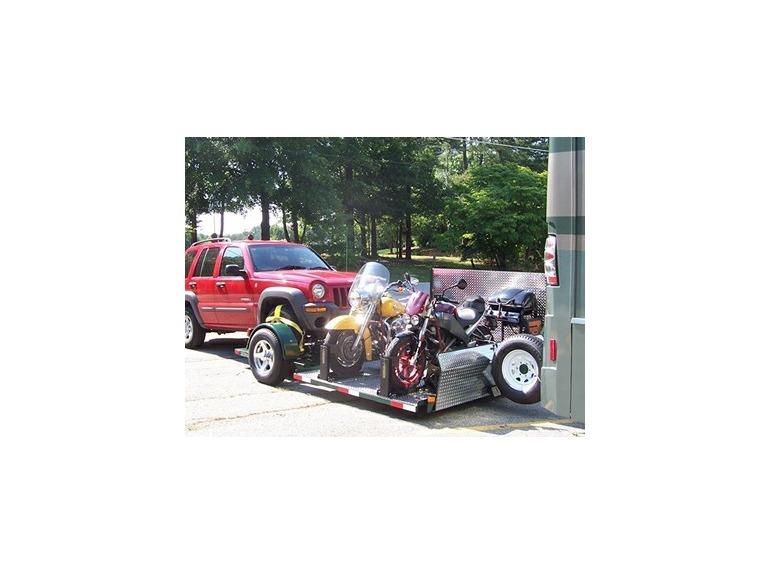 2008 Custom Motorcycle Trailer