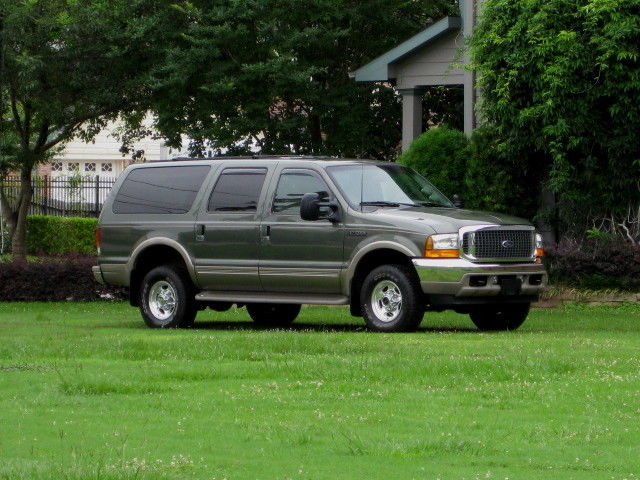 Ford : Excursion 4x4 DIESEL! LOW MILEAGE... 3RD ROW (LIMITED) 1 OWNER! BETTER THAN 2003 2004 2005 7.3L DIESEL