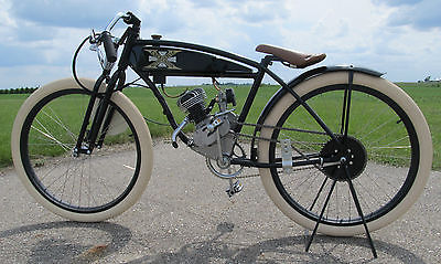 Custom Built Motorcycles : Other Board track racer vintage replica motorcycle flat track Excelsior Harley Indian