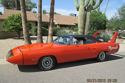 Plymouth : Road Runner SUPER BIRD 1970 superbird documentation owner history born with components original 6 pk
