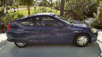 Honda : Insight Hybrid 2002 honda insight hybrid hatchback 3 door 3 cyl with newer ima batteries