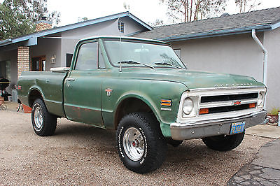 Chevrolet : C/K Pickup 1500 K10 1968 chevy truck k 10 short bed 4 x 4 4 wd