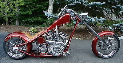 Custom Built Motorcycles : Chopper Custom Show Quality Chopper - Best of Everything - Details are Amazing!