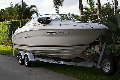 2002 Sea Ray 225 Weekender - 24ft - New Engine w/ Warranty - Cuddy Cabin Cruiser