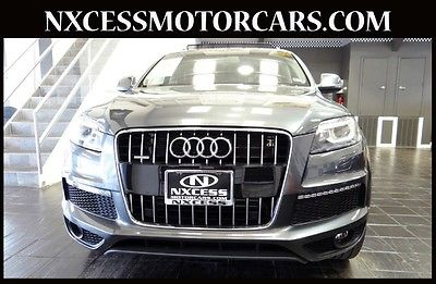 Audi : Q7 11 k miles 1 owner clean carfax factory warranty