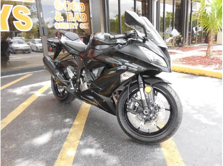 2013 Kawasaki Ninja® ZX -6R