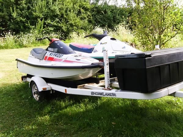 5 Waverunners 2 Trailers 1 Price!