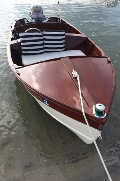 14' 1957 Barbour Runabout