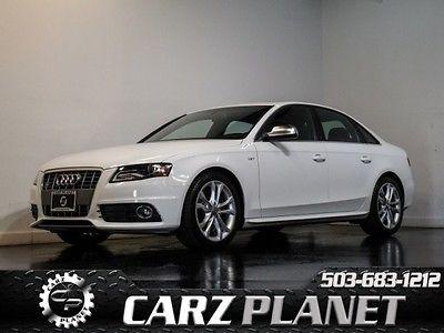 Audi : S4 3.0T Quattro similar to rs4 & s5 & r8 & gt-r & s8 2012 audi s 4 3.0 t quattro premium plus still under factory warranty quattro awd