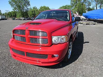 Dodge : Ram 1500 viper SRT10 viper SRT10 truck roller body from NO rust race car project CLEAN TITLE
