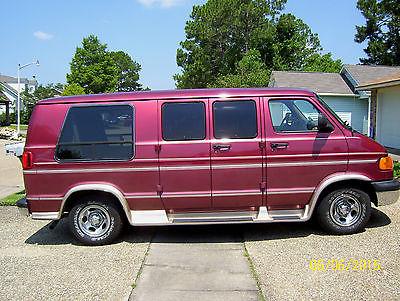 Dodge : Ram Van conversion handicap / wheelchair van 2001 dodge ram 1500 wheelchair conversion van 5.2 l