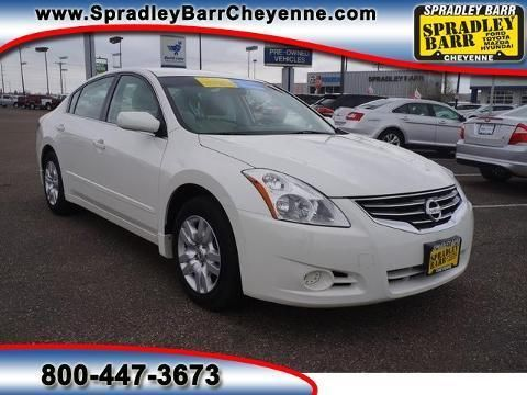 2012 NISSAN ALTIMA 4 DOOR SEDAN