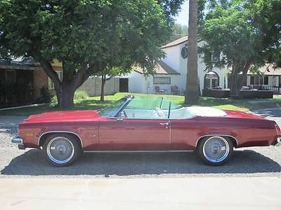 Oldsmobile : Other Royale Convertible 2-Door 1975 oldsmobile delta 88 royale convertible 2 door 5.7 l