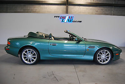 Aston Martin : DB7 Vantage Coupe 2-Door 2001 aston martin db 7 vantage gorgeous color green on green well maintained