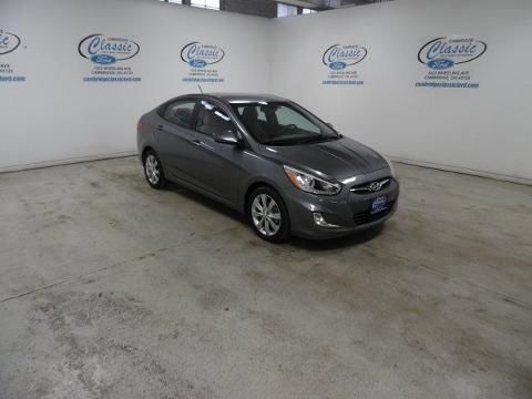 2014 HYUNDAI ACCENT 4 DOOR SEDAN