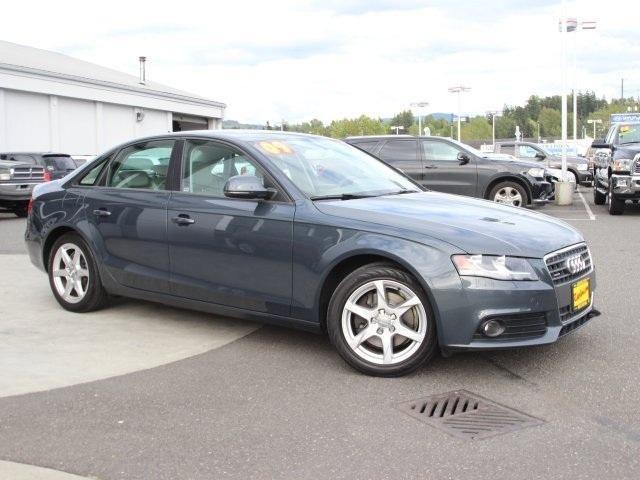 2009 Audi A4 4D Sedan 2.0T Premium