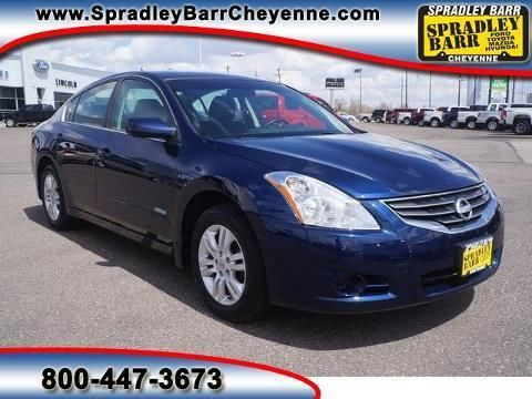 2010 NISSAN ALTIMA HYBRID 4 DOOR SEDAN