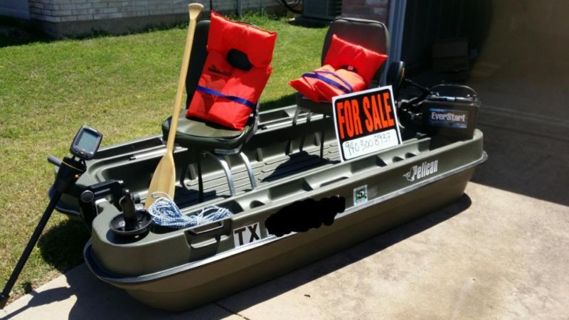 Pelican Bass Boats For Sale