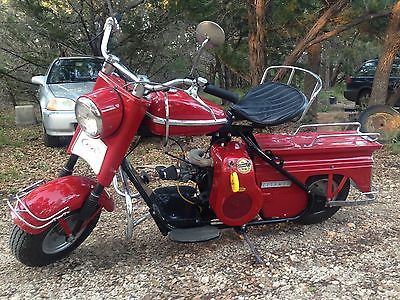 Cushman : Super eagle 1960 cushman super eagle