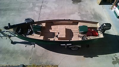 FRESH WATER FIBERGLASS FISHING BOAT