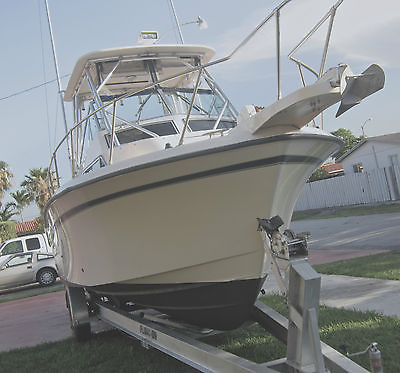 1999 GRADY WHITE 272 SAILFISH WITH TWIN YAMAHA 200s SALTWATER SERIES EXCELLENT.