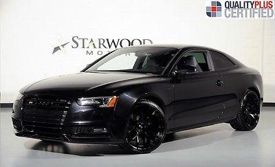 Audi : S5 Premium Plus 2014 audi s 5 leather sunroof one owner