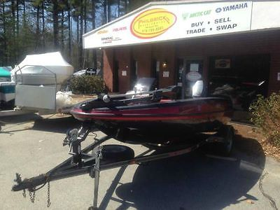2002 Skeeter ST15 ST 15 bass fishing with Yamaha 60 with trailer ready for water