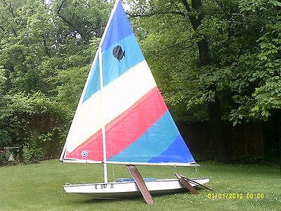 Sunfish AMF Sailboat 1975