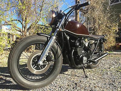 Honda CB 1979 Cb 750 Vintage Motorcycle Bobber Brat Cafe Racer Video