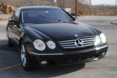 Mercedes-Benz : CL-Class CL600 2dr Coupe 2001 mercedes benz cl class