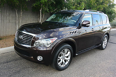 Infiniti : QX56 Base Sport Utility 4-Door 2013 infiniti qx 56 4 wd loaded with luxury factory warranty excellent cond