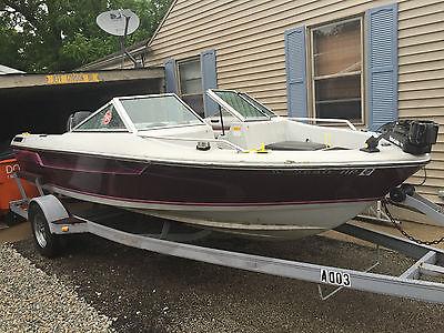 1993 Ozark Fish & Ski 17' Boat