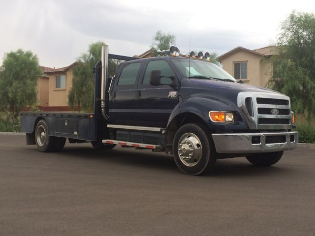 Ford : Other Pickups Flatbed Used Manual Transmission Caterpillar C7 Acert SuperCrew