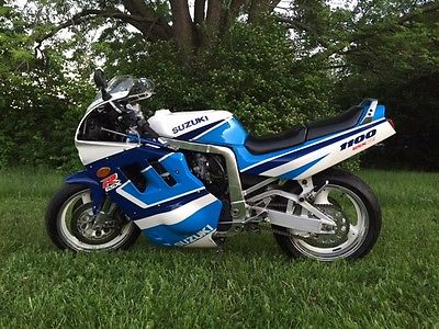 Suzuki : GSX-R 1991 suzuki gsx r 1100 gsxr 1127 beautiful one of a kind