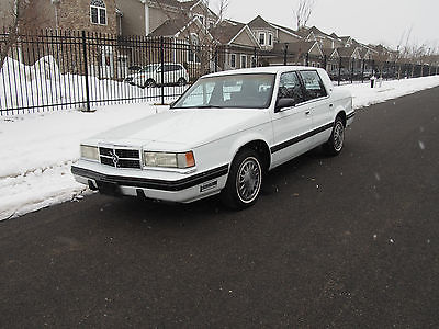 Dodge : Dynasty LE,  CLEAN RUST-FREE CAR FROM NEVADA GORGEOUS 1989 DODGE DYNASTY LE ~ 65K ORIGINAL SOUTHERN MILES  ~ 40+ PHOTOS