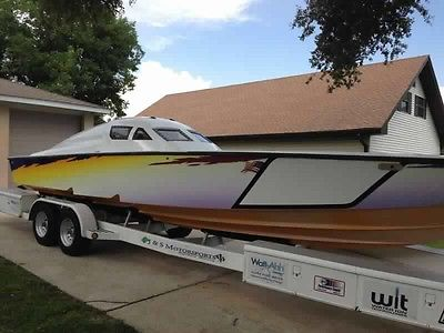 1997 scarab powerboat race boat