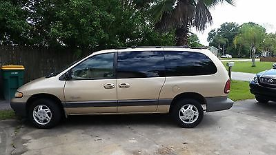 Plymouth : Grand Voyager 4 DOOR van,tan,cargo,cheap,new tires, all new suspension,