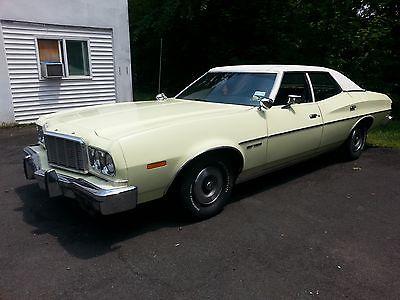Ford : Torino gran torino chrome 1974 ford torino