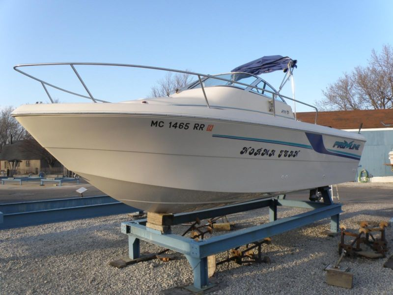 1998 21' PROLINE 211WA+98 Merc 225Hp Salt Water+98 Kicker+Trailer+More