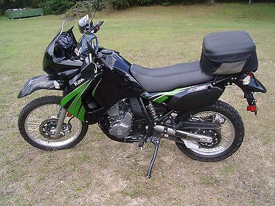 Kawasaki : KLR 2010 kawasaki klr 650 black