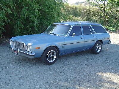 Plymouth : Other Volare Wagon 1979 plymouth volare wagon super 6 auto air solid clean mopar dodge aspen