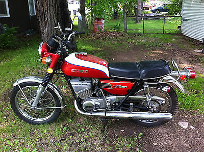 Suzuki : Other 1973 suzuki gt 250 excellent condition classic 2 stroke