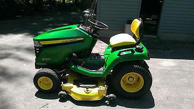 2014 John Deere Garden Tractor X500