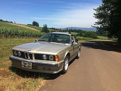 BMW : 6-Series Not specified 1989 bmw 635 csi pristine classic coupe