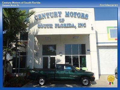 Dodge : Dakota Clean CarFax 1 Owner Florida Owned 3.9L V6 Engine Cloth Interior Club Cab