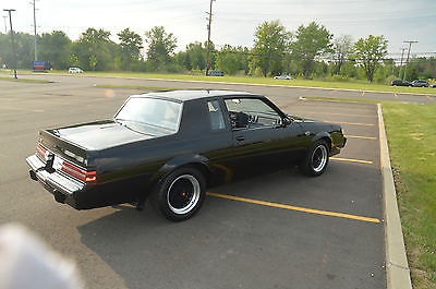 Buick : Grand National BUICK GRAND NATIONAL LOW MILE GRAND NATIONAL